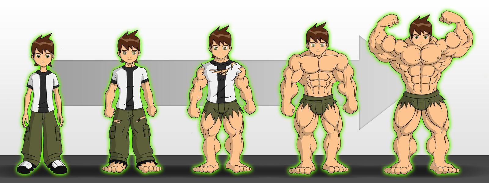 Bathroom Growth by hearmenowu2 on DeviantArt  Ben Muscle Growth