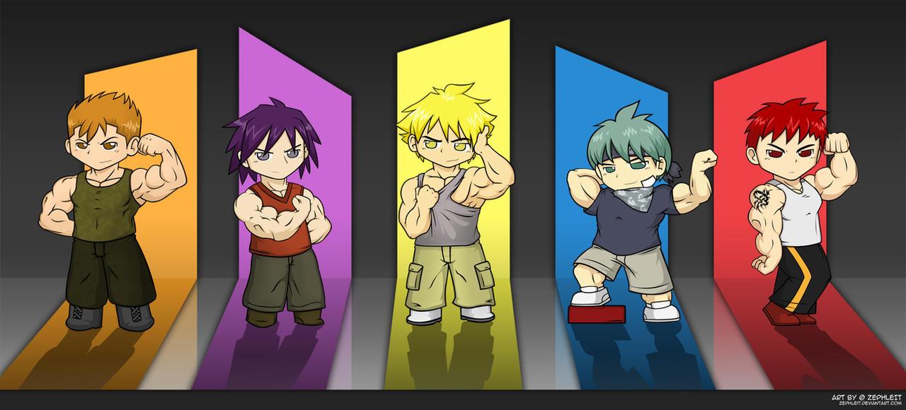 Anti-Towel Boys by zephleit