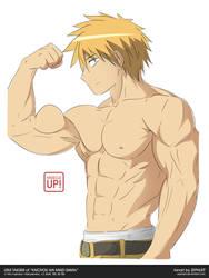MuscleUp - Usui Takumi by zephleit