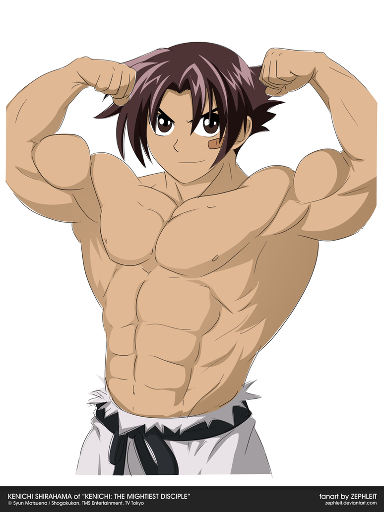 Anime Characters Born On October 8 : Muscleup kenichi shirahama by zephleit on deviantart