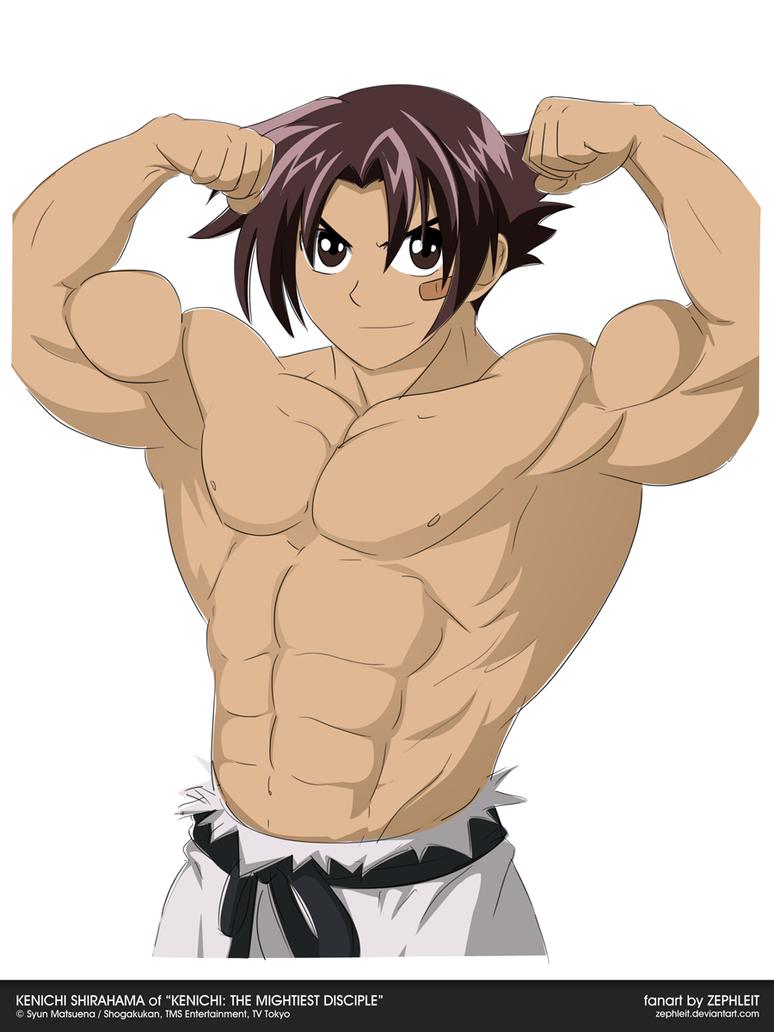 MuscleUp - Kenichi Shirahama by zephleit