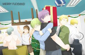 Merry Flexmas by zephleit