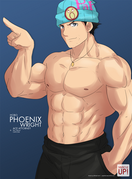 MuscleUp - Hobo Phoenix Wright