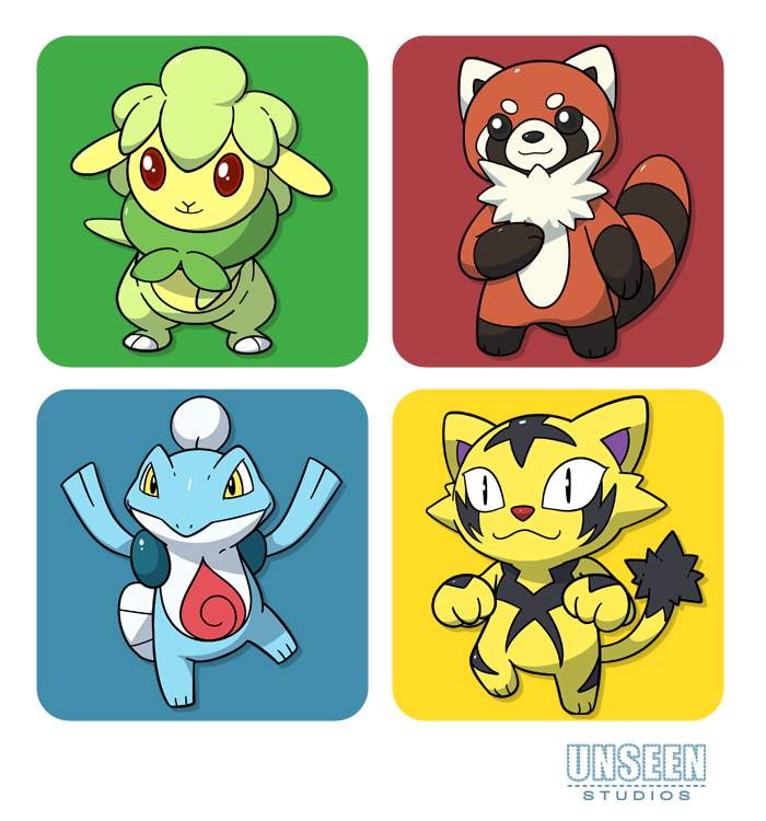 Monimals -Starters- by zephleit