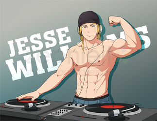 [COM B3.01] DJ Muscle by zephleit