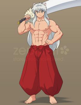 [COM B5.08] Inuyasha by zephleit
