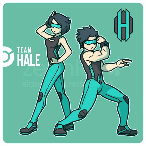 Team Hale -Grunts- 2013 by zephleit