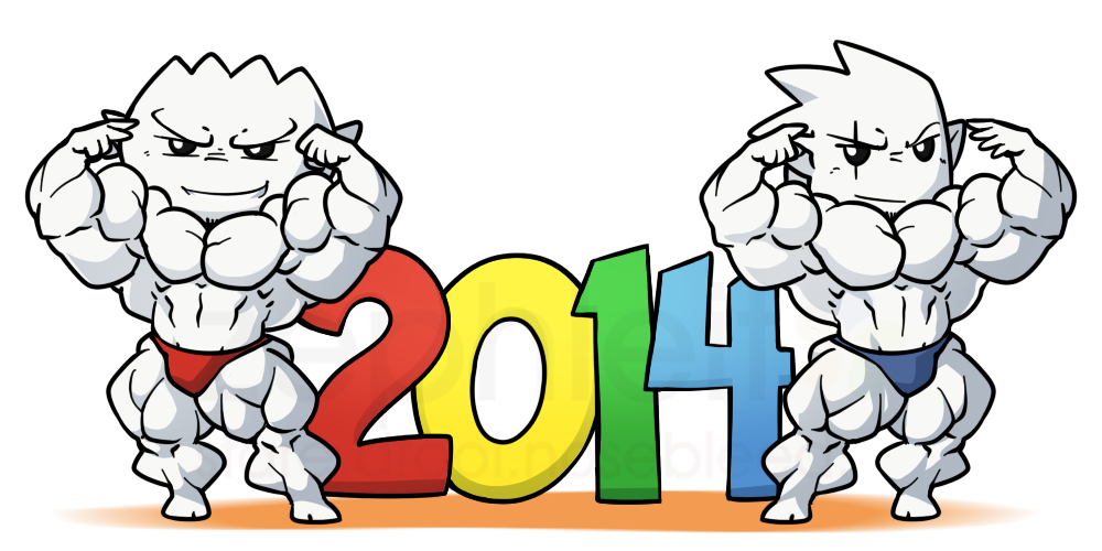 Welcome 2014! by zephleit