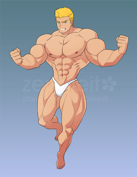 [COM B10.18] Speedo Man