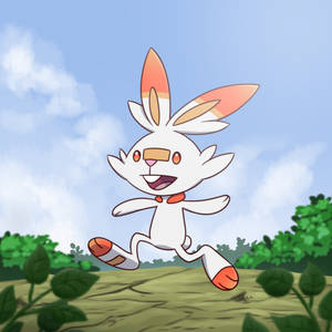 Scorbunny by cookygraphy