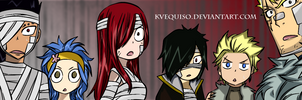 Fairy Tail Chapter 325 Colored - Shocked Face