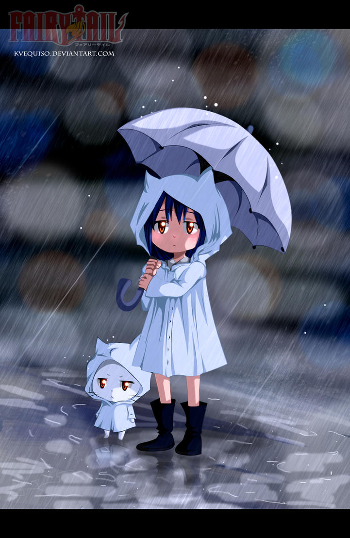 Wendy Marvell and Charle into the rain by kvequiso