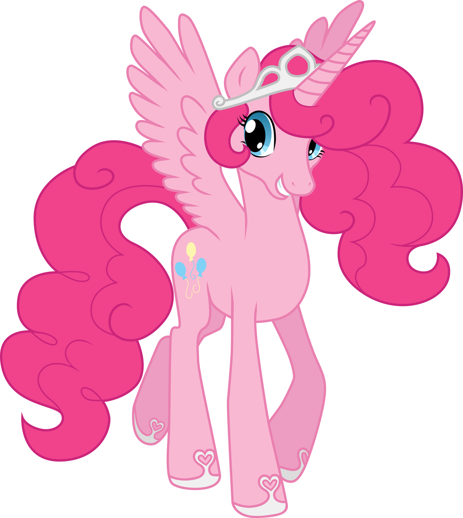 how to draw pinkie pie equestria