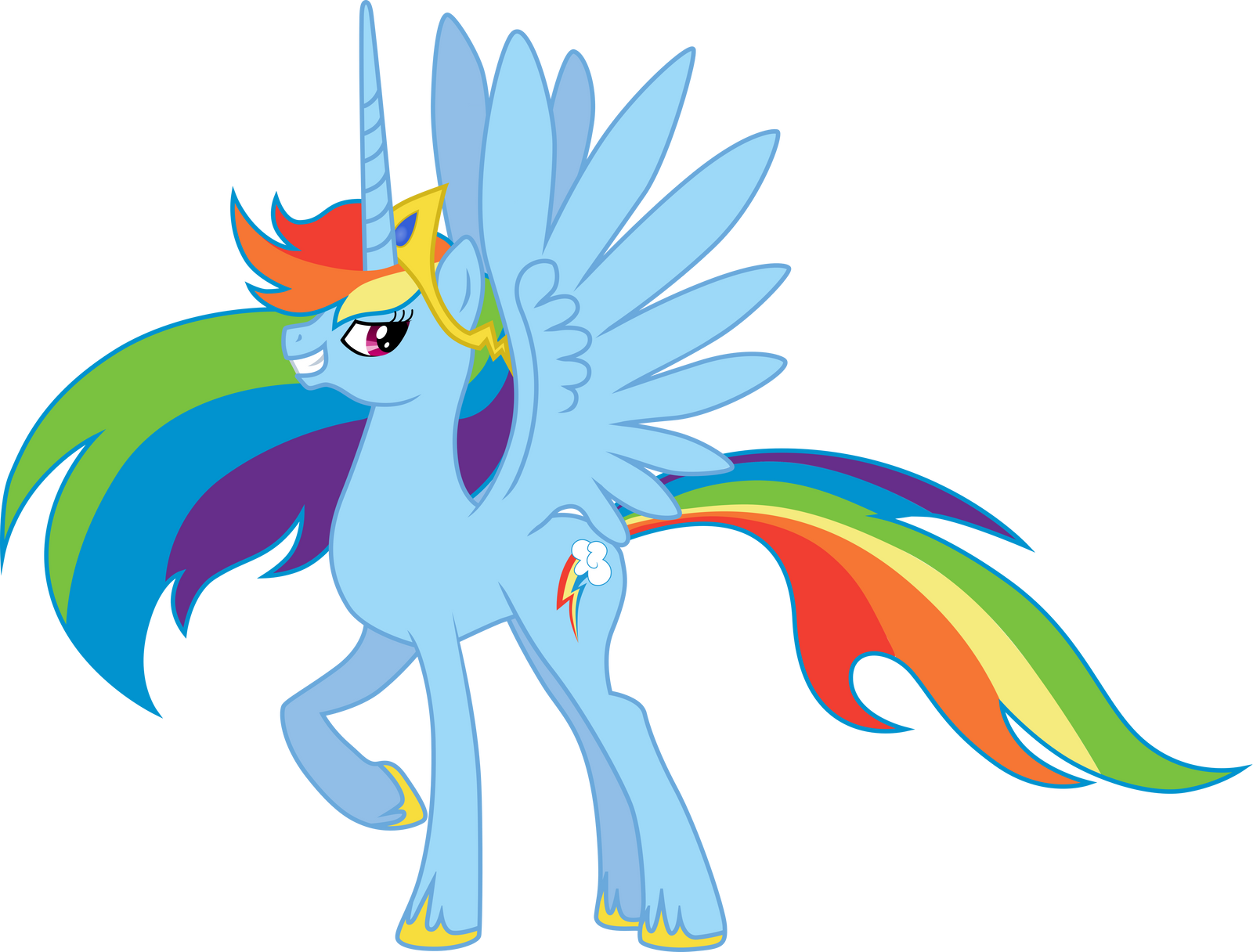 Princess Rainbow by Chimajra on DeviantArt