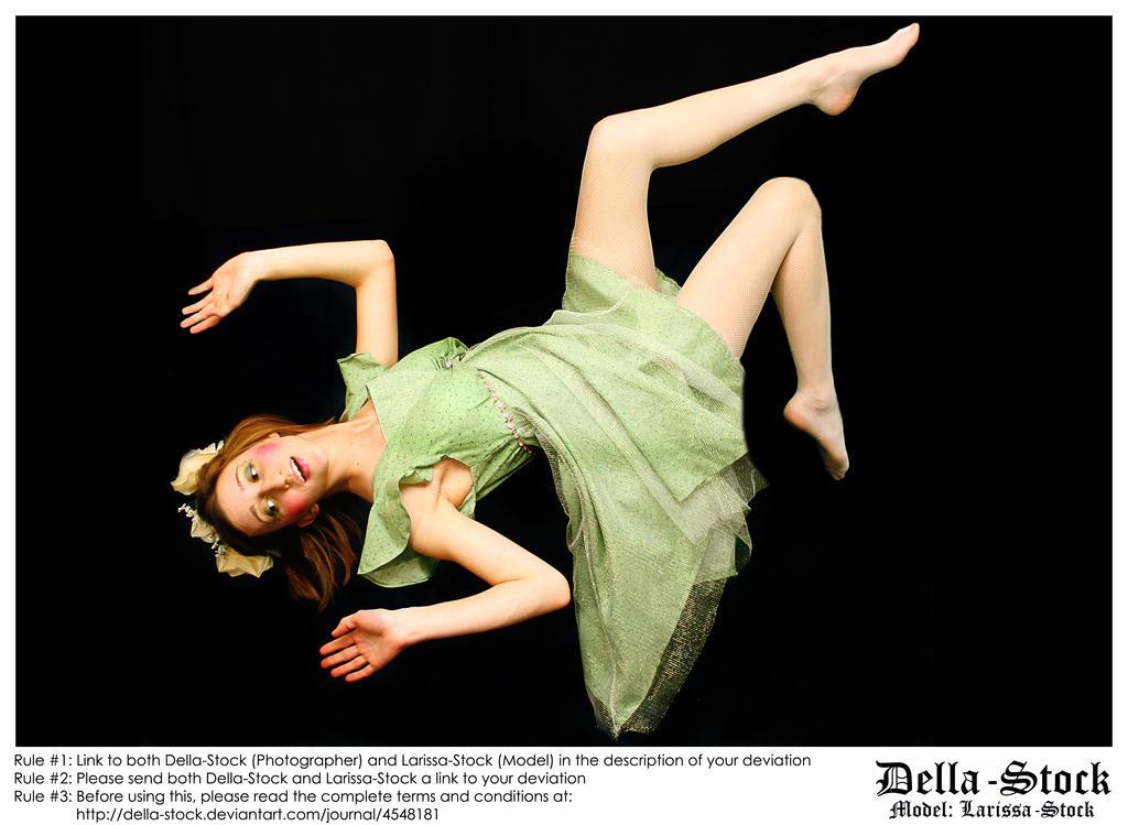 Falling Fraulein Fairy by Della-Stock