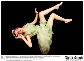 Falling Fraulein Fairy.2 by Della-Stock