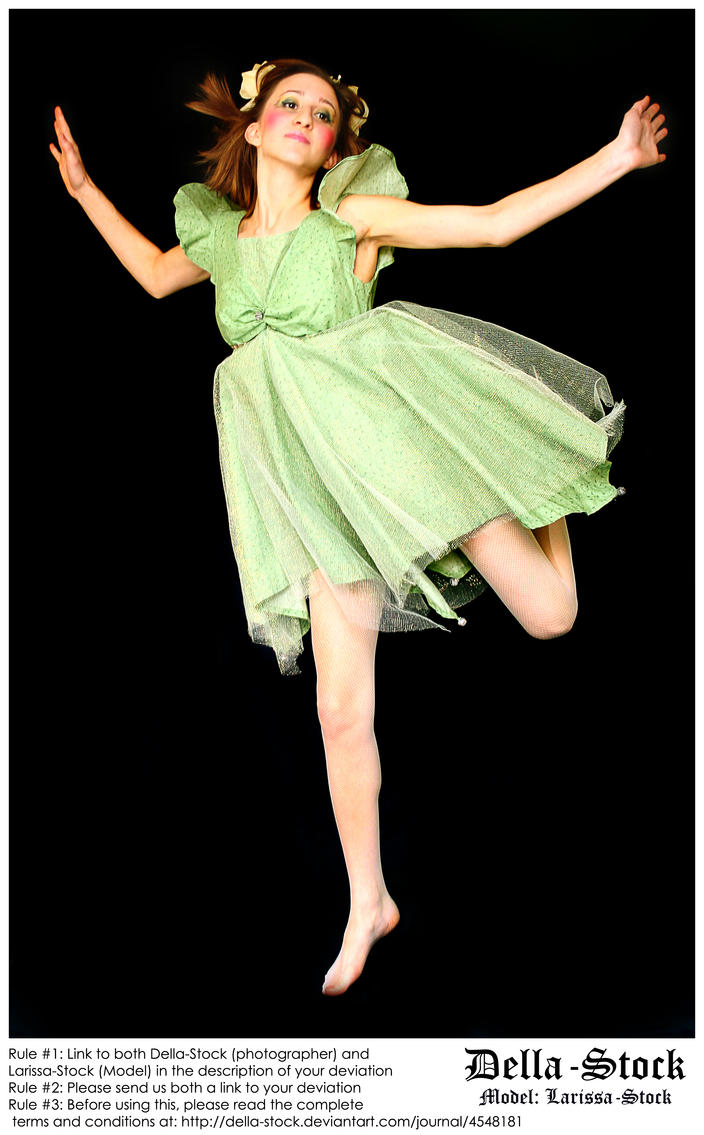 Leaping Fraulein Fairy By Della Stock