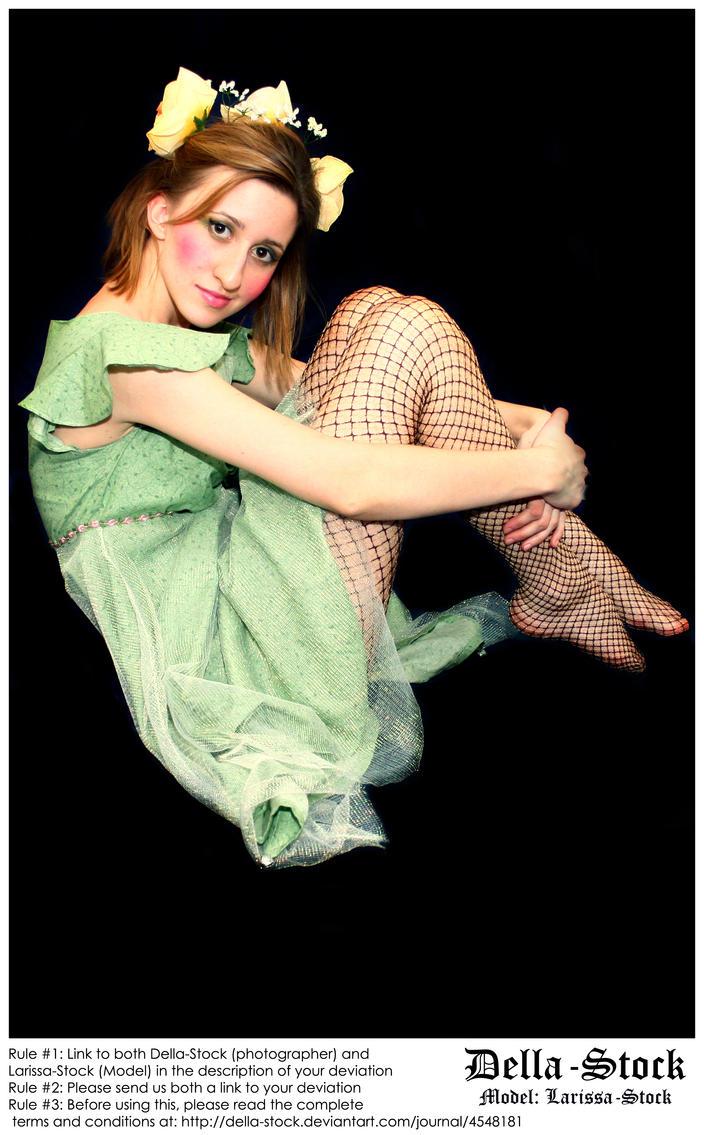 Fraulein Fairy Sit By Della Stock