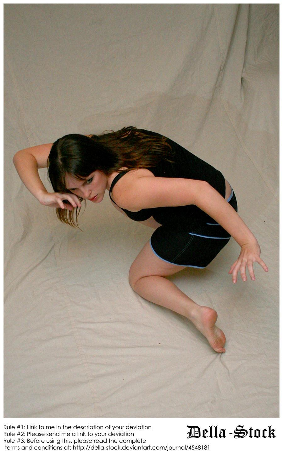 Odd Crouching Angle by Della-Stock