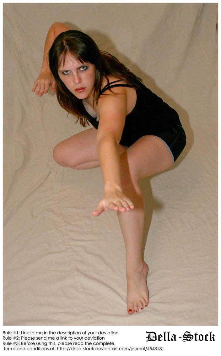 I'm No Martial Arts Chick by Della-Stock