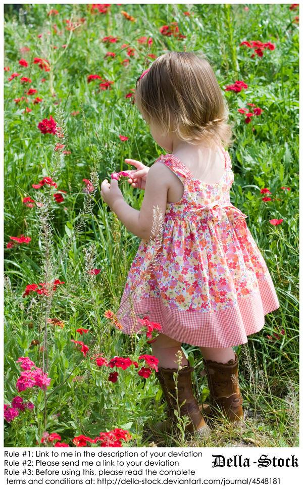 Child in Phlox.3 by Della-Stock
