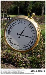 Alice in Wonderland Clock by Della-Stock