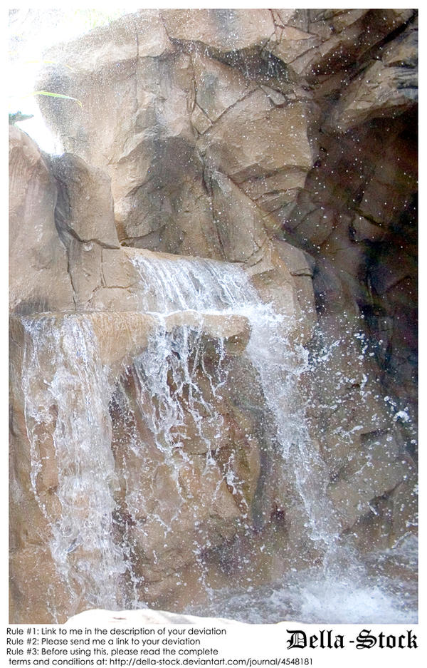 Rainforest Cafe Waterfall.5 by Della-Stock