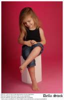 LillianAva Sitting Stock by Della-Stock