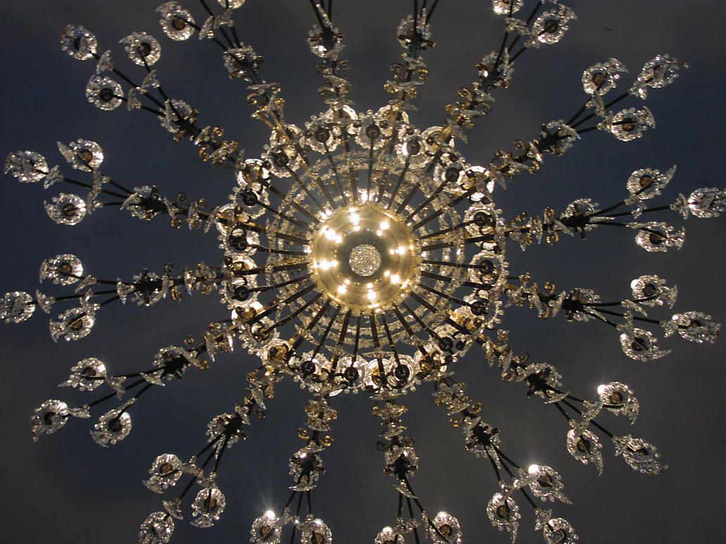 Crystal chandelier by della stock on deviantart crystal chandelier by della stock arubaitofo Images