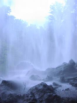 Blue Waterfall Full