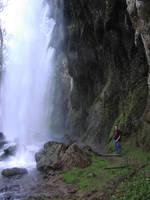 Waterfall Side by Della-Stock