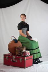 Victorian Traveler 2 by Della-Stock