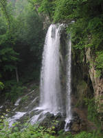 Waterfall - Full by Della-Stock