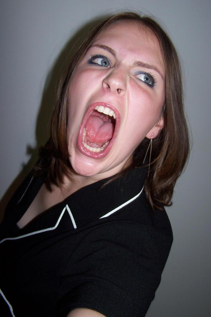 Scream-Will Tear Your Head Off by Della-Stock