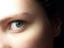 Eye Study Minimal Makeup by Della-Stock
