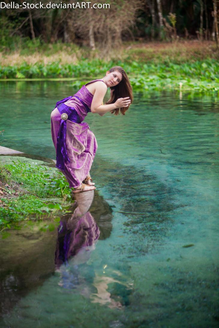 Megara Water's Edge 4 by Della-Stock
