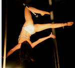 Trapeze Lady's Backside