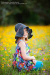 Colorful Child in Hat.2