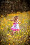 Child Running Away
