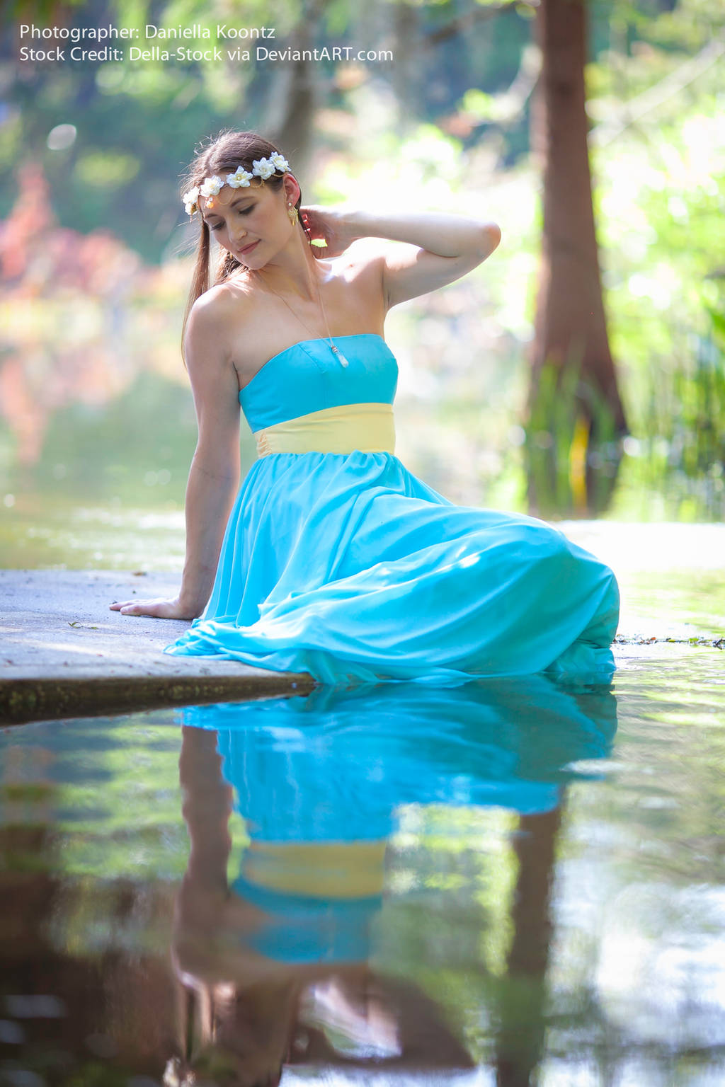 Water Goddess.14 by Della-Stock