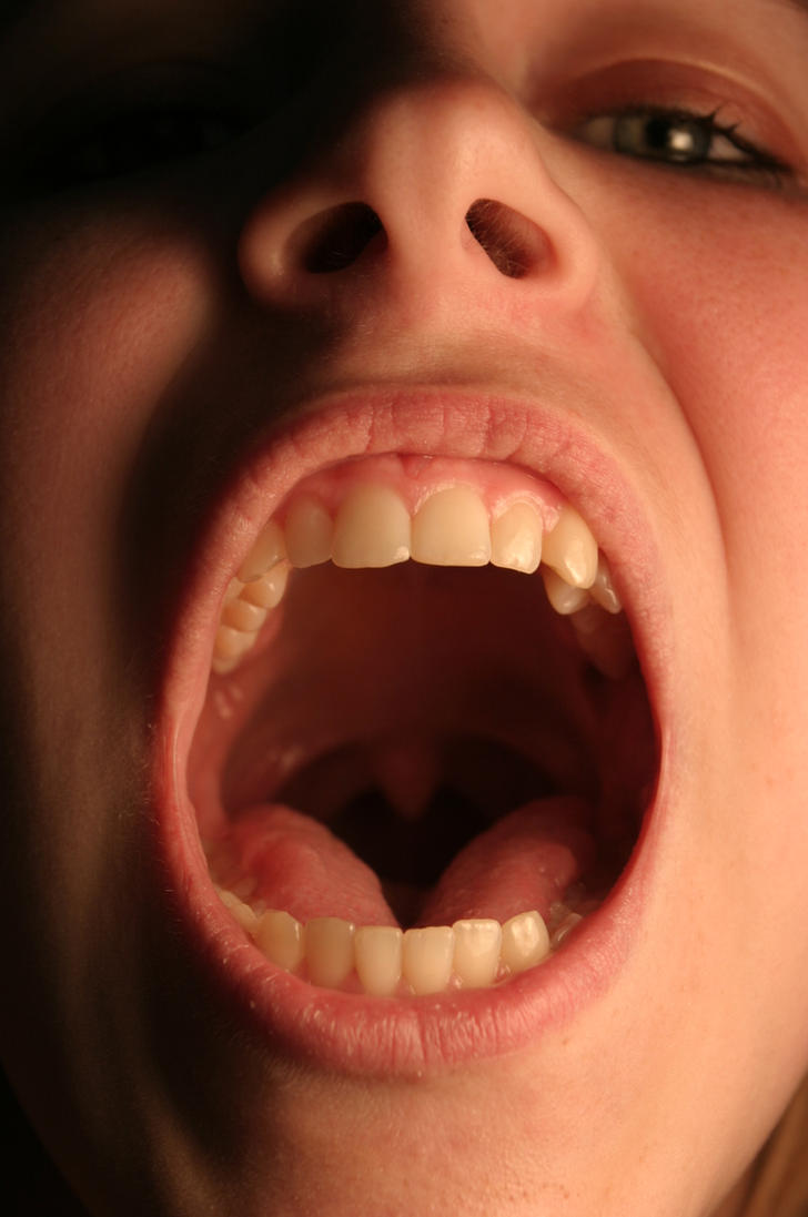 The Mouth In Detail Close In By Della Stock On Deviantart