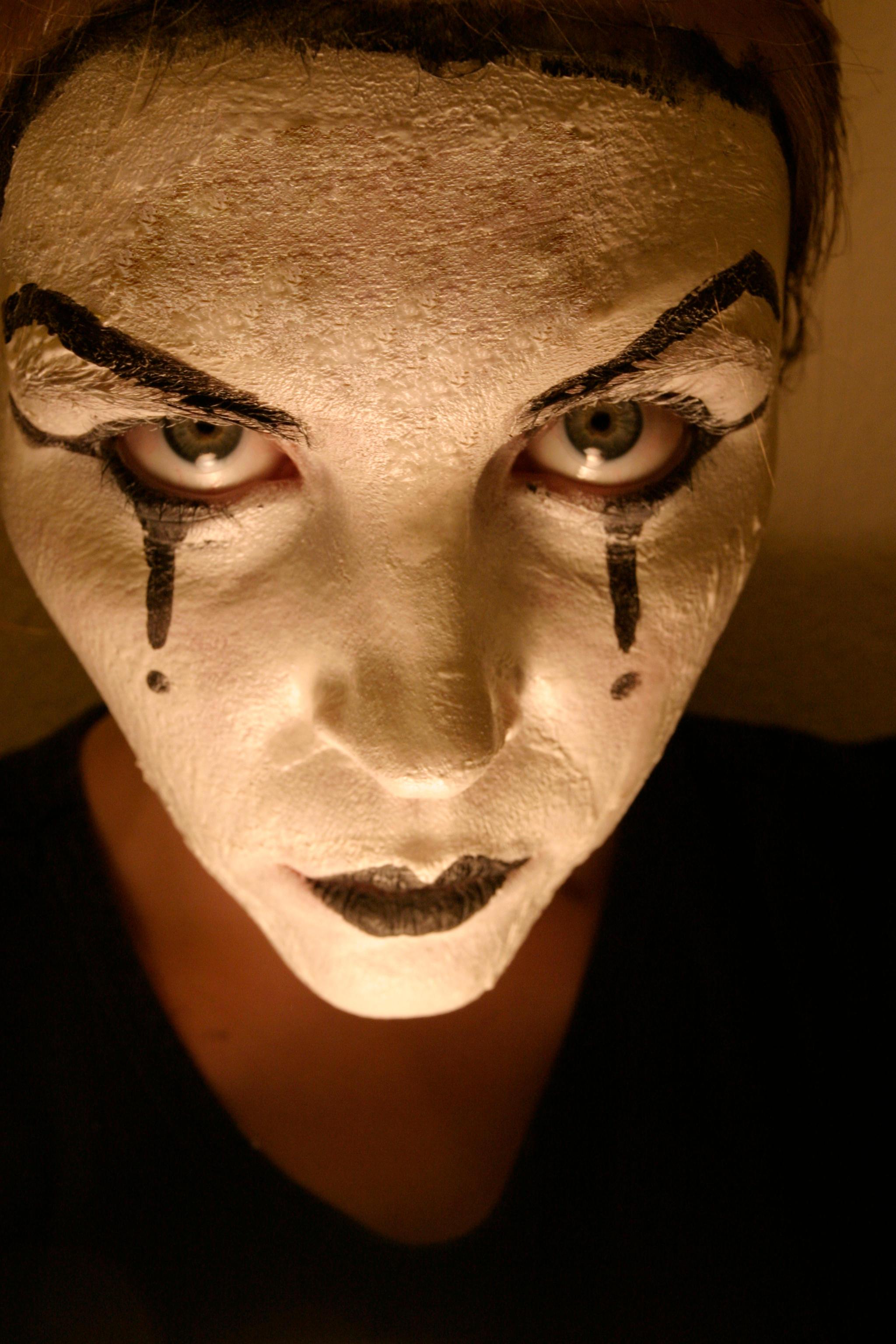 Evil Mime by Della-Stock