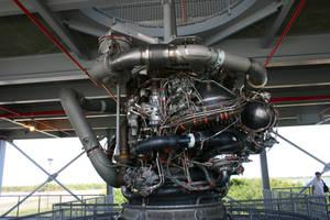 Shuttle-Main Engine by Della-Stock