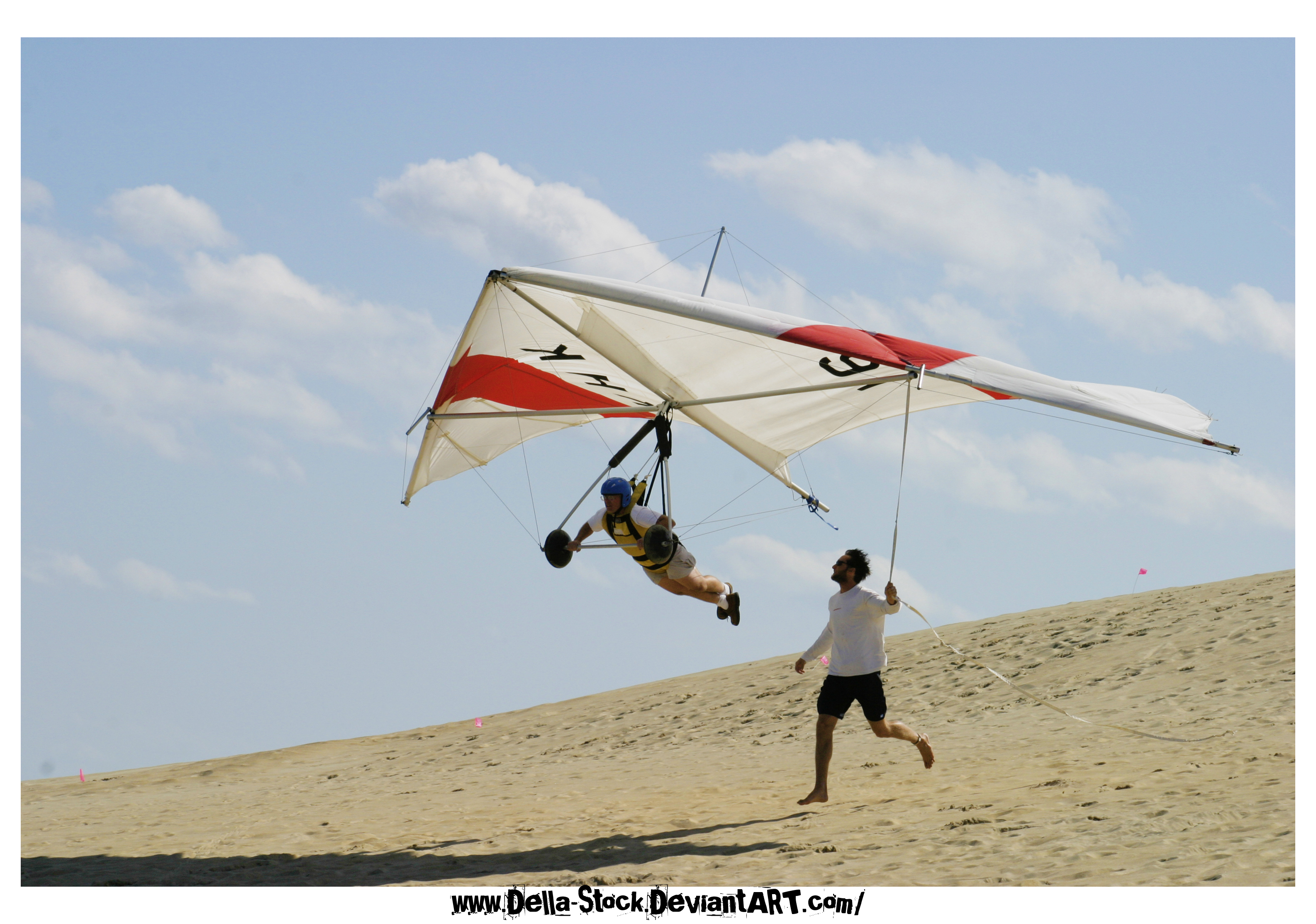 Hang Glider 2 by Della-Stock