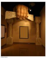 Arch in Hand by Della-Stock