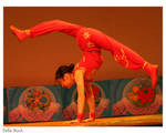 Chinese Acrobatic Hand Spring