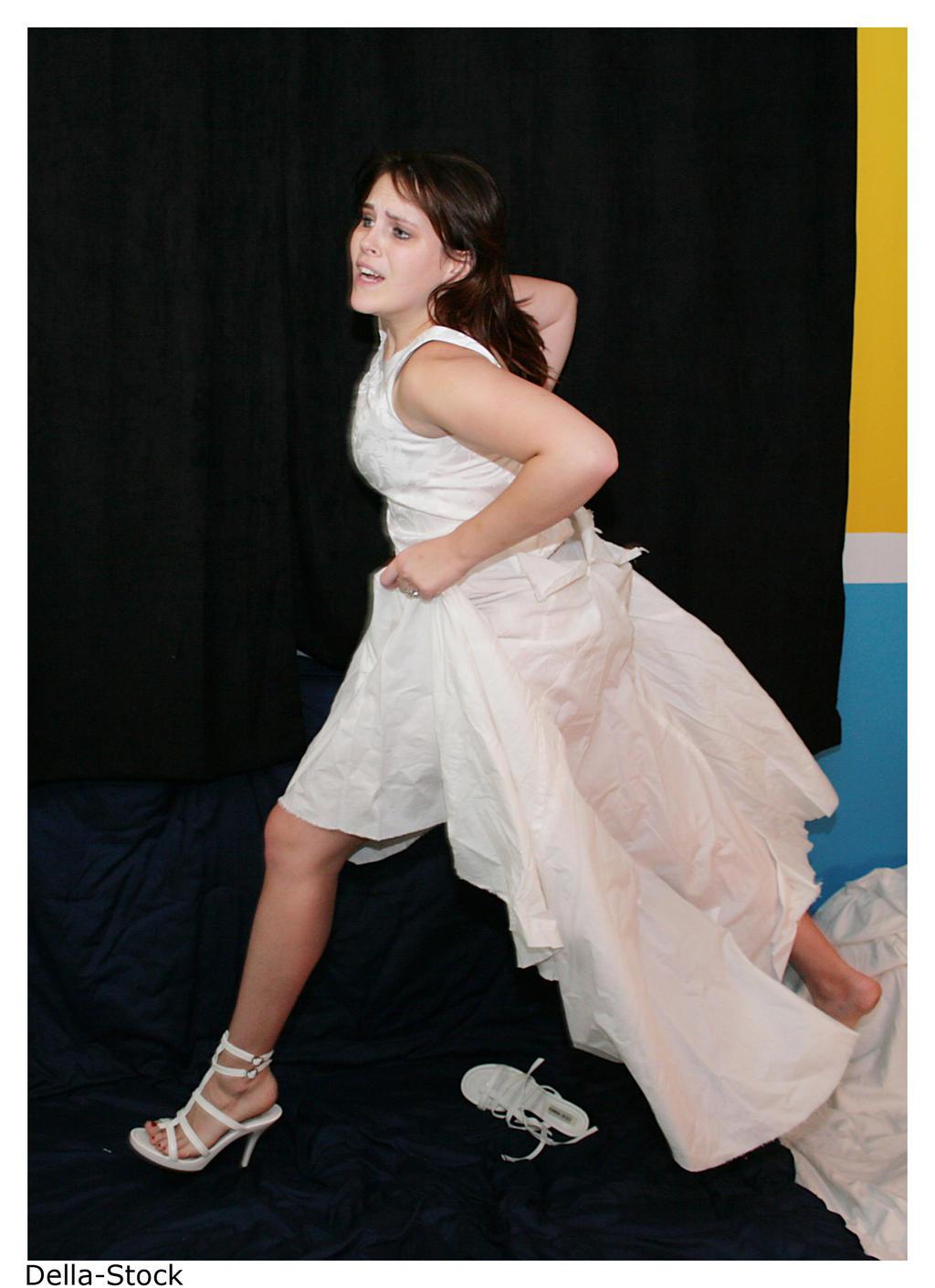 Cinderella: Running Away by Della-Stock