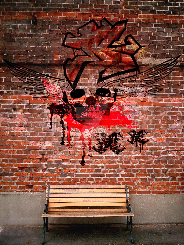 Brick Wall Art brick wall artmadmike92 on deviantart