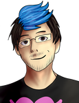 Markiplier {with speedpaint}