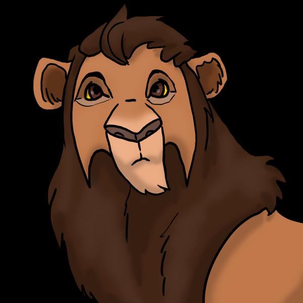 Kiara/Kovu cub 3: Reon by SilentEnmity